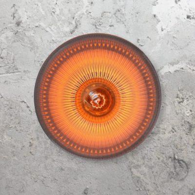 Holophane Pendant Light,Reclaimed Glass Pendant Light