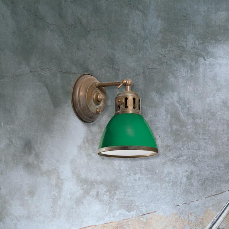 E2 contract lighting products vintage wall light clb 00384 95 uk green vintage wall light mozeypictures Images
