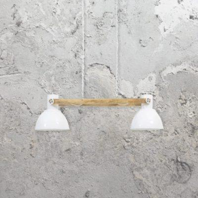 White Industrial Spotlights Pendant