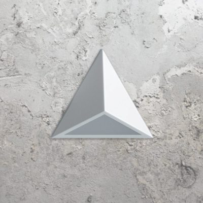 White LED Triangle Wall Light,
