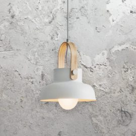 White Scandinavian Pendant Light