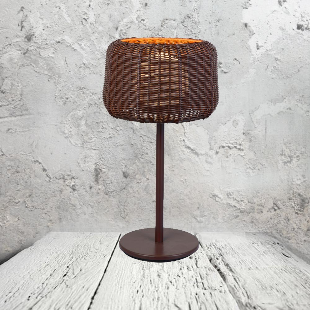 Wicker Basket Lamp CL-32727 | Products | E2 Contract Lighting | UK