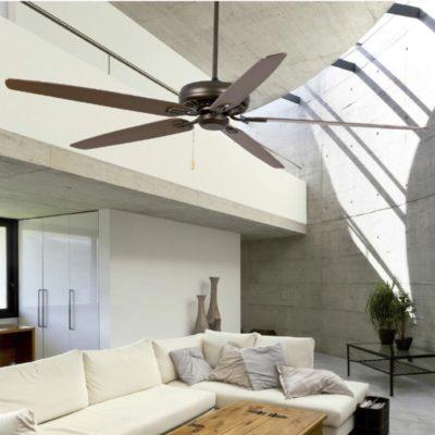 Wood Industrial Ceiling Fan