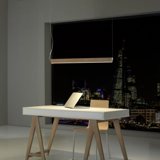 Wood LED Pendant