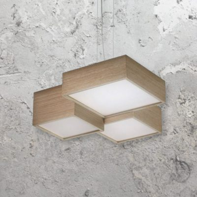 Wood LED Pendant