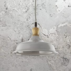 Wooden Metal Gloss Pendant Light