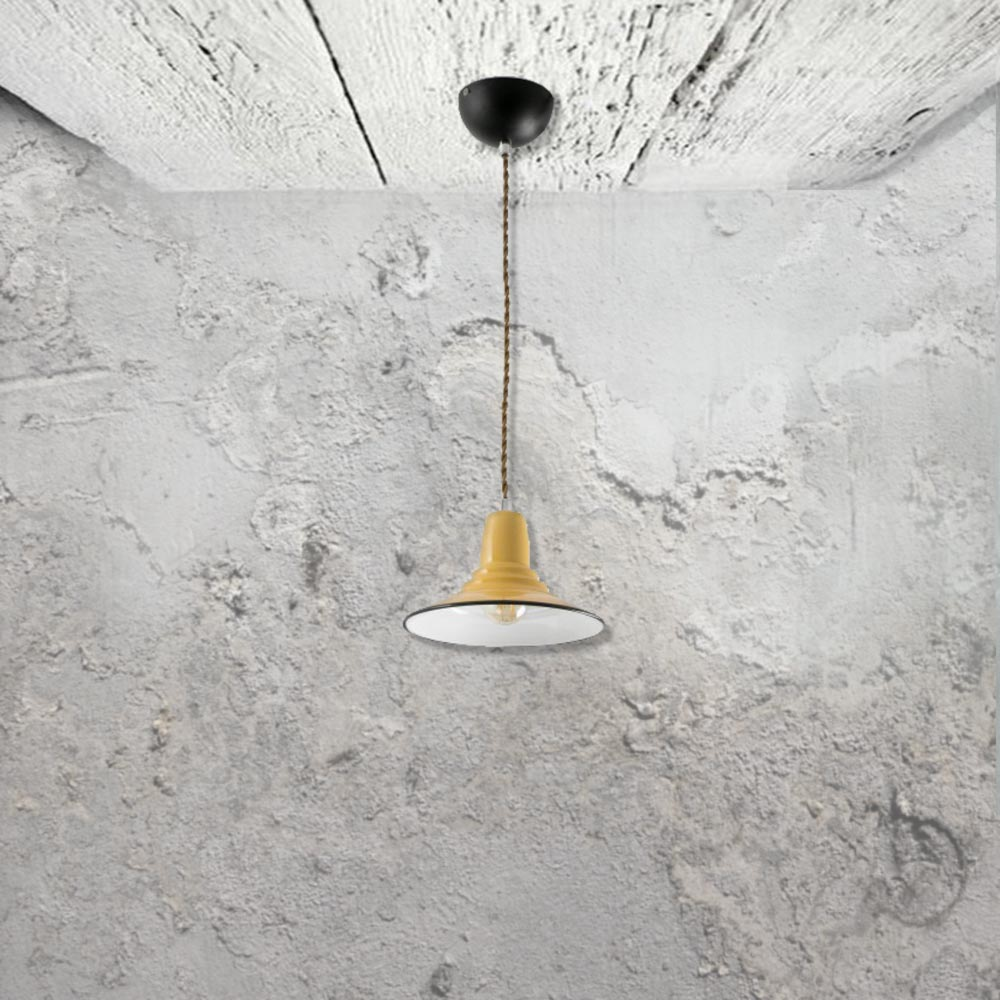 Yellow Pendant Light CL