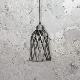 Zinc Cage Pendant Light