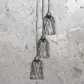 Zinc Cage Pendant Lights