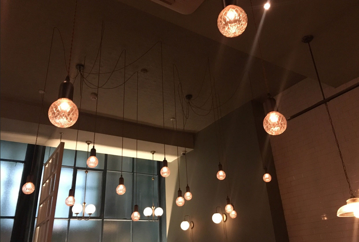 restaurant-lighting-UK & E2 Contract Lighting | Latest Projects | Dobson and Parnell ... azcodes.com